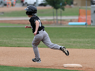 Rounding Second Base